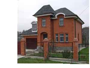 строительство домов из кирпича, искусственных и природных кирпичей